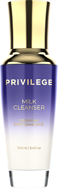 Privilege Milk Cleanser with coffee oil and extract