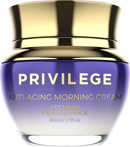 Privilege Anti-Aging Morning Cream with coffee oil and extract